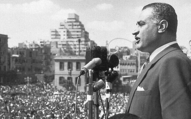 Nasser  50 anos depois ainda é uma figura polarizadora
