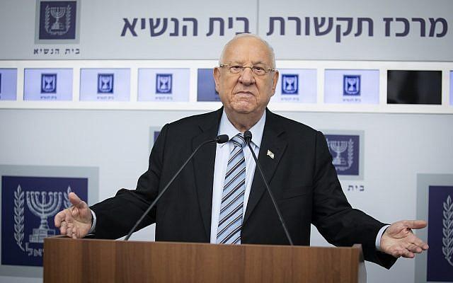 Eleições em Israel: Iniciando as conversações   Rivlin convida Netanyahu e Gantz