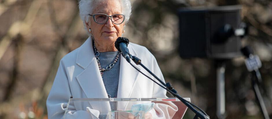 Legisladora italiana e sobrevivente do Holocausto, 90, recebe constantes ameaças    antissemitas
