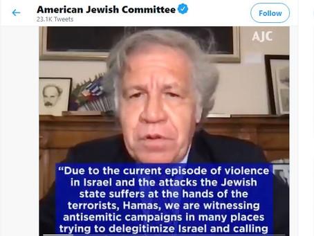 Pedir o desaparecimento de Israel é um ato de terrorismo'