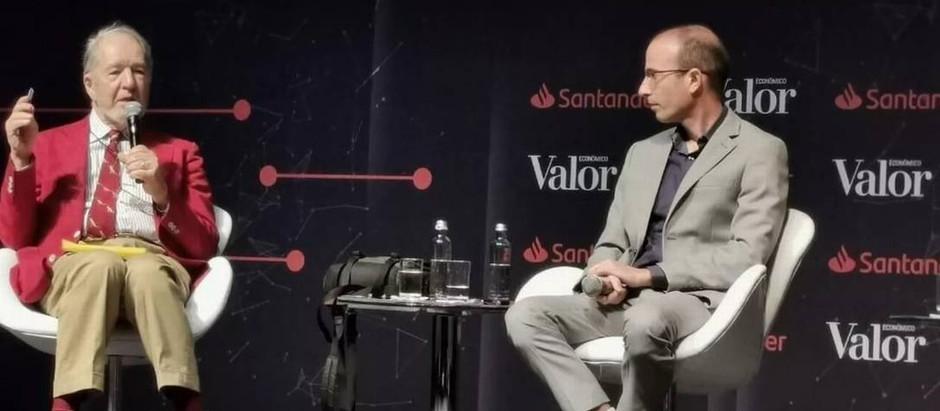 O historiador israelense Yuval Harari esteve em evento no Brasil