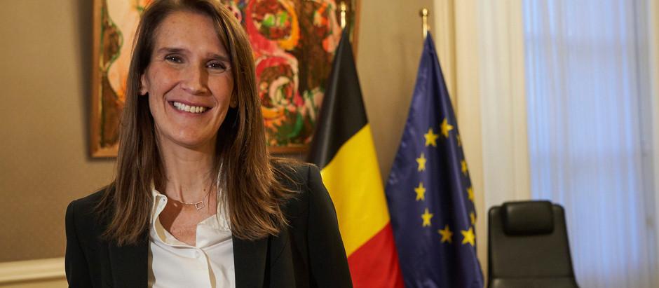 A primeira ministra da Bélgica é judia
