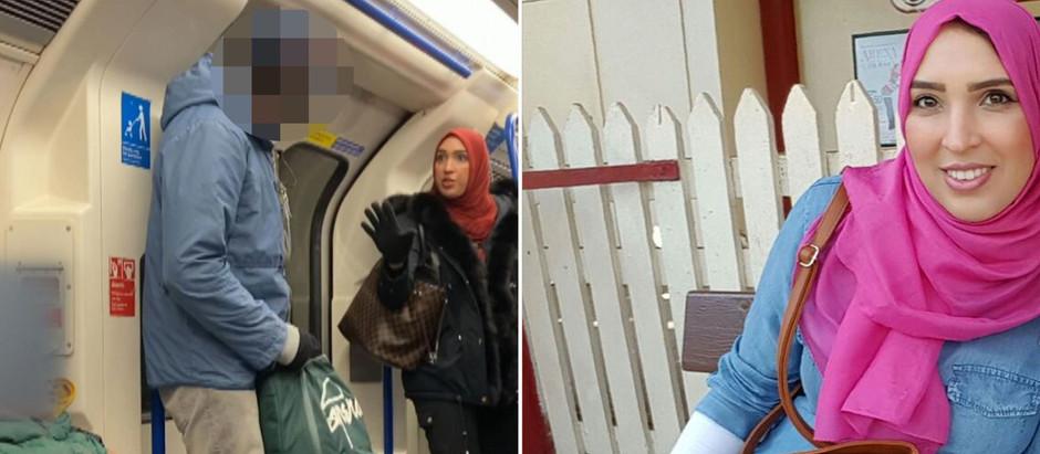 Mulher muçulmana confronta homem por expressões antissemitas contra família judaica