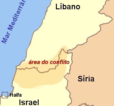 Hezbolhah ataca no norte de Israel