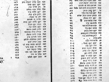 Projeto busca restaurar sobrenomes judeus perdidos em países árabes