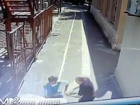 *A coragem de um segurança evitou tragédia numa Sinagoga*