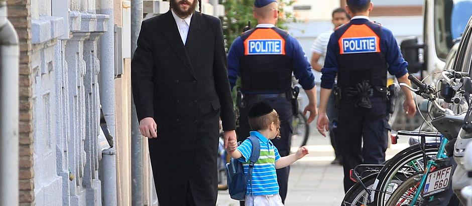 Judeus na Bélgica esperam que o já terrível problema do antissemitismo piore