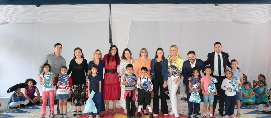 Consulado Geral de Israel participa de evento beneficente em prol de crianças em situação de risco