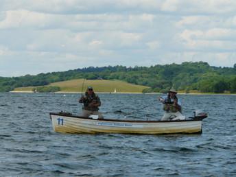 Garvin Argyle and Nigel Perrin on Rutland