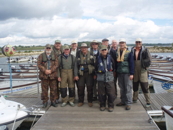 The Rutland Eleven at the start of day 1 - June 8th