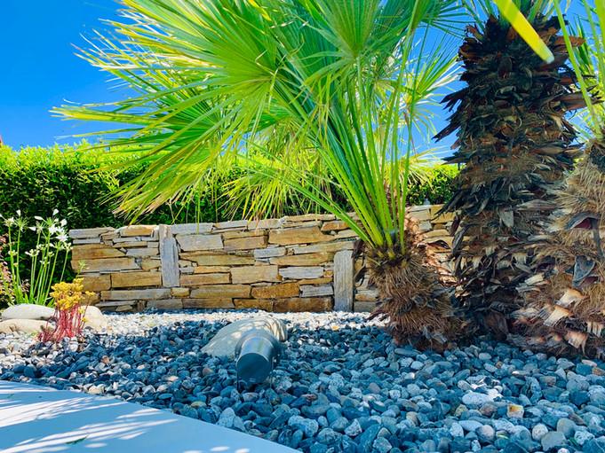 Muret pierre séche