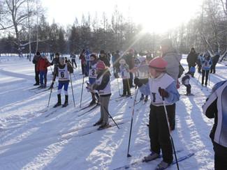 Соревнования по лыжным гонкам «Новогодняя гонка».
