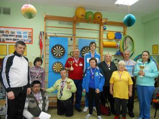 III спортивный фестиваль Новосибирского района среди граждан пожилого возраста и лиц с ограниченными