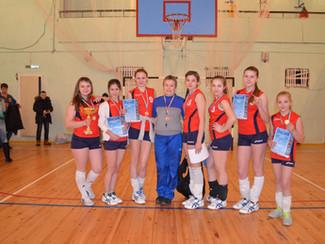 Волейбол XIX спартакиада школьников Новосибирского района