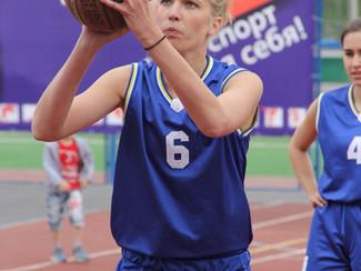 Чемпионат по баскетболу.