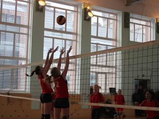 Новогодний турнир по волейболу среди женских команд Новосибирского района