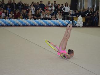 ХVIII традиционный детский турнир по художественной гимнастике на кубок «ДЕДА МОРОЗА»