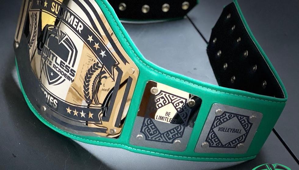 Summer Series Championship Belt