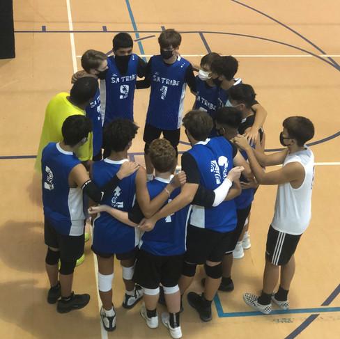 SA Tribe Boys Volleyball Team