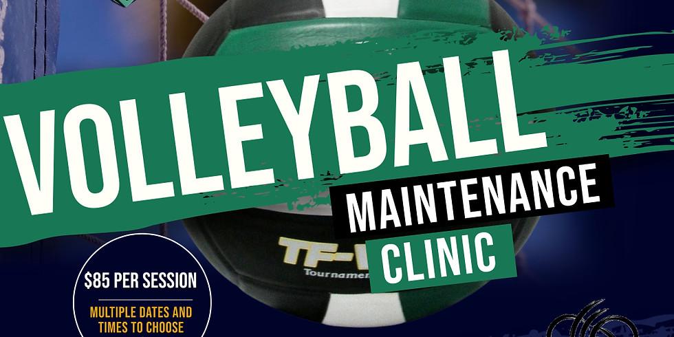 LSA Volleyball Maintenance Clinic