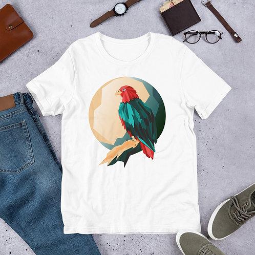 Summer T-Shirt with Bright bird print