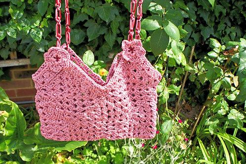 Light Burgundy, Rose colour shoulder bag