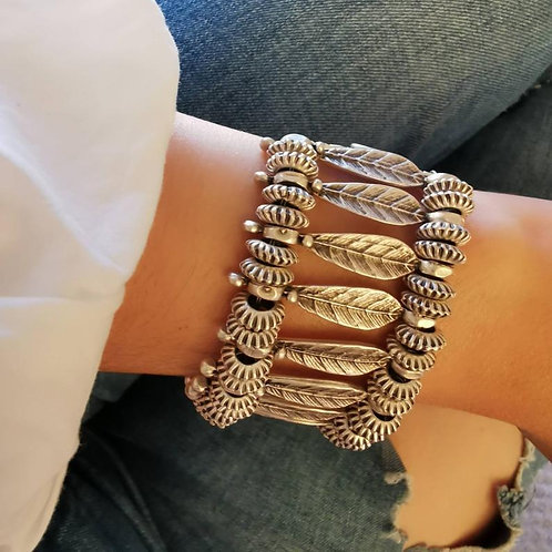 Ethnic Patterned Bracelet