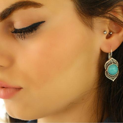 Elegant Turquoise Stone Earrings