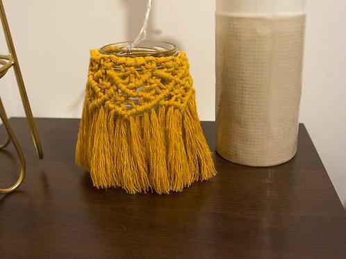 Macramé Candle Holder, Vase, Lantern, Jar Dressing