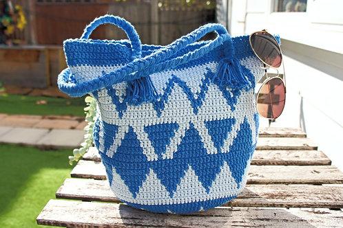 Wayuu Bag, Handmade woven handbag, Crossbody