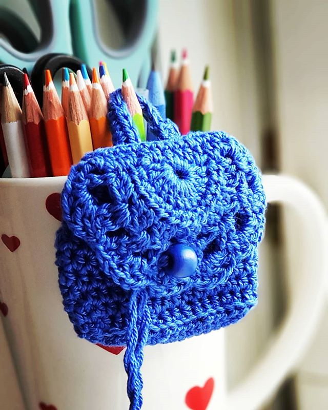 How cute isn't it 🥰🥰🥰_#ilovecrochet #