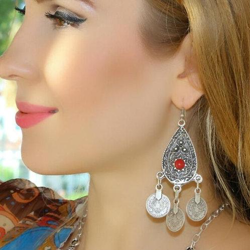 Unique Teardrop Earrings