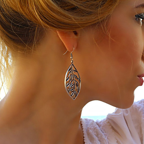 Unique Leaf Earrings