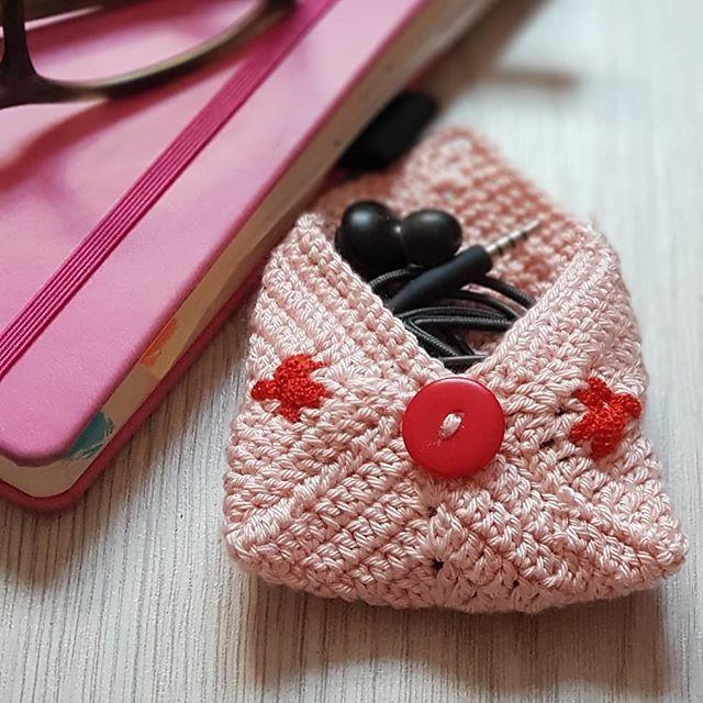Little pink case _#pink #handmade #mywor