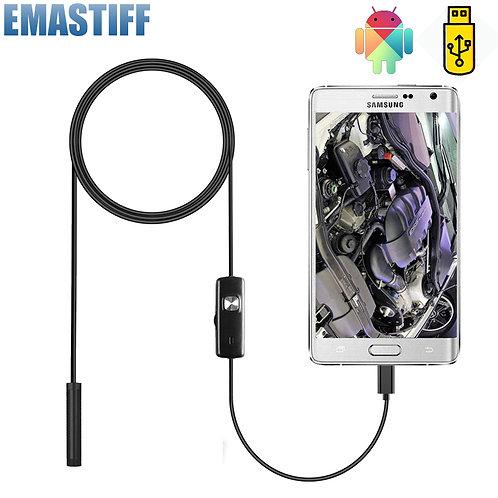 7mm Endoscope Camera Flexible IP67 Waterproof Micro USB Inspection