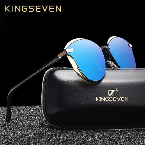 KINGSEVEN Cat Eye Sunglasses Women Polarized Fashion Ladies