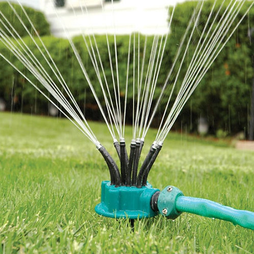 1pc Irrigation Sprinkler Plastic 360 Degree Adjustable  Noodle