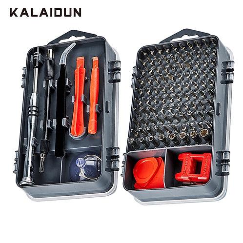 KALAIDUN 112  in 1 Screwdriver Set Magnetic Screwdriver Bit