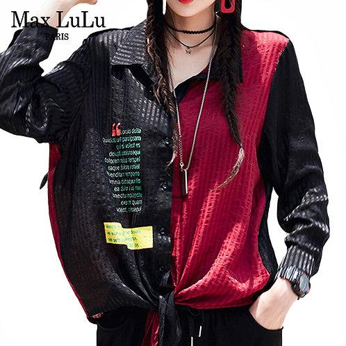 Max LuLu European Designer Clothes New Autumn Ladies Vintage