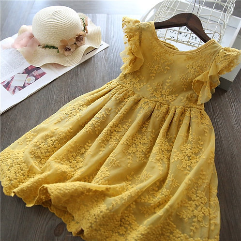 Summer Lace Children Clothing Princess Kids Dresses for Girls
