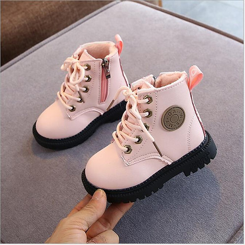 2020 Autumn/Winter Children Boots Boys Girls Leather Martin