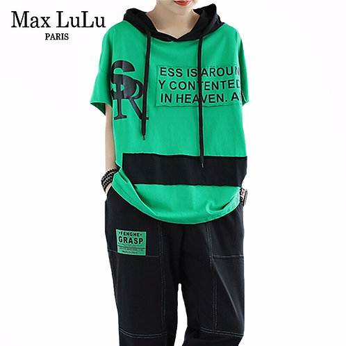 Max LuLu Korean Fashion 2020 Summer Ladies Casual Punk