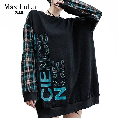 Max LuLu Autumn Korean Style Clothes Ladies Fashion Plaid