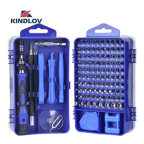 KINDLOV Phone Repair Tools Kit Screwdriver Set Precision 115 in 1 Magnetic