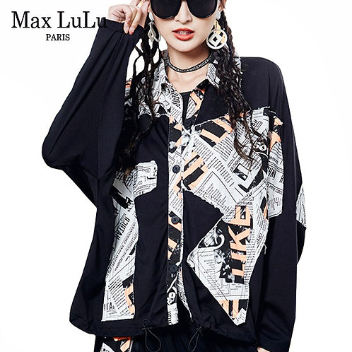 Max LuLu 2020 Autumn Korean Luxury Fashion Ladies Designer