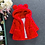 Thumbnail: Baby Girls Jacket Kids Boys Fashion Coats Artificial Fur Warm Hooded
