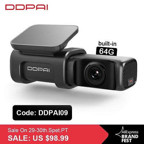 DDPai Dash Cam Mini5 4K 2160P UHD DVR Car Camera Android