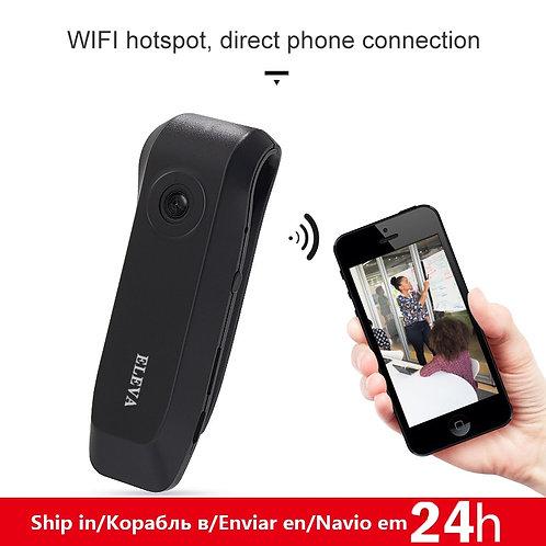 Wearable Mini Wifi Camera 140 Degree 1080P Full HD Portable