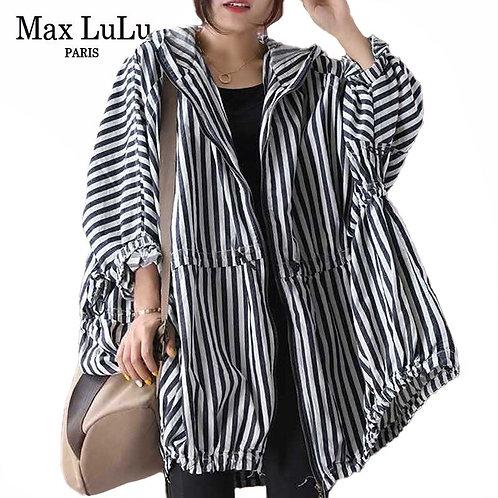 Max LuLu 2020 Autumn Korean Style Clothes Long Streetwear