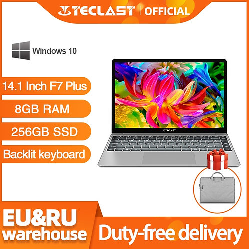 Teclast F7 Plus Laptop 14.1 Inch Notebook 8GB RAM 256GB SSD Windows 10
